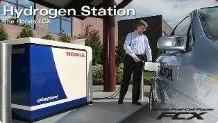 Honda Home Hydrogen Station