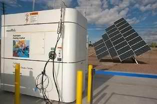 Solar Hydrogen Commercial Electrolyzer