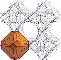 Extended crystalline solids composed of metal clusters