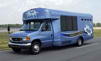 Ford's Hydrogen E-450 Shuttle Bus