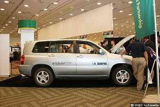 Toyota SUV Hydrogen Car